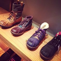 New boots for men from Cole Haan!