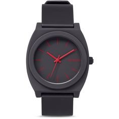 Nixon Time Teller Watch, 40mm (83 CAD) ❤ liked on Polyvore featuring jewelry, watches, black, nixon jewelry, nixon wrist watch, nixon, brightly watches and nixon watches