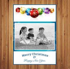 Holiday Photo Cards by JLOriginalDesigns on Etsy, $25.00