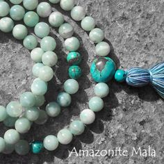 Oh! Amazonite!! I need these Malas! I like the size and texture. All My Malas are too ruff or too small...