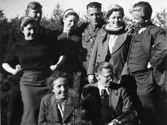 SS members at the Hohenlychen clinic near Ravensbrück.