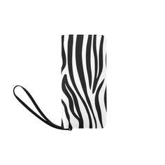 a5c3eaf9c48 Womens Clutch Purse - Custom Zebra Pattern - White Zebra - Accessories  Purses Zebras White Zebra