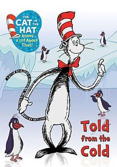 DVD: Come join in the fun, on new adventures we go, with the Cat in the Hat and his friends all in tow! Discover how water can turn into snow, that penguins don't fly but, boy can they go! Black bears get ready for a very long sleep, before the weather gets cold and the snow is too deep.