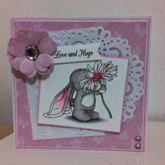 angel4031 Bebunni Floral CD ROM Crafters Companion Spectrum Noirs
