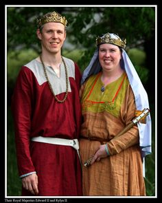 Majesties in Regalia from the Kingdom of Ealdormere (Ontario and other areas of Canada)