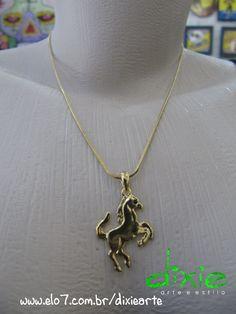 Corrente Cavalo Dourado  www.mercado.etc.br/dixiearte