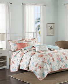 Beach Bedding Sets, Aqua Bedding, Coastal Bedding, Coastal Bedrooms, Quilt Bedding, Comforter Sets, Luxury Bedding, Bedding Decor, King Comforter