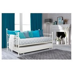 Manila Twin Daybed and Trundle White - Dorel Home Products : Target
