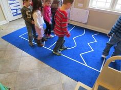 Winter time large motor play for the preschool classroom   Teach Preschool