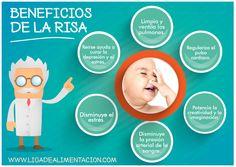 #Salud LOS BENEFICIOS DE LA RISA