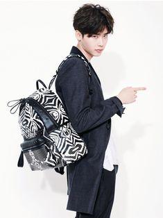 Lee Jong Suk shows how to rock 'MCM' bags and backpacks for 'Marie Claire' Lee Jong Suk Cute, Lee Jung Suk, Ahn Jae Hyun, Lee Seung Gi, Lee Jong Suk Kim Woo Bin, Jang Geun Suk, Kang Chul, Seo Kang Joon, Asian Actors