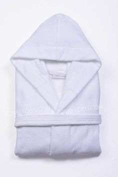 Our Terry Velour Bathrobes Hooded are woven using premium 100% natural cotton. Available in four colors, these bathrobes are made of terry cloth inside and terry velour outside. #Luxury #Velour #Bathrobes #Hooded