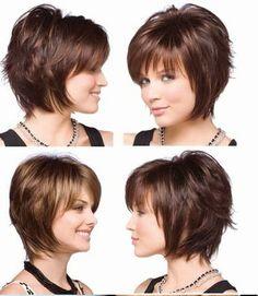 Corte de cabelo curto perfeito #shorthair #cabeloscurtos #hairstyle #hair #cabelos #mulheres