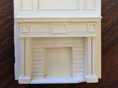 Miniature Mantel by PrettySmallThings  http://thingiverse.com/thing:15486
