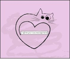 Lovely Cute Pink Cat Shirt  Printable  Card by BananaCloud on Etsy