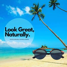 Our beautifully made natural handmade sunglasses will have you looking great this summer! Sustainability, Rio, Looks Great, Mirrored Sunglasses, Bamboo, Shades, Earth, Natural, Instagram Posts
