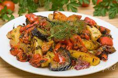 Olives, Ratatouille, Le Diner, Dessert Recipes, Desserts, Japchae, Paella, Shrimp, Curry