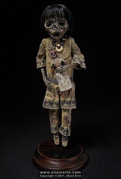 Mummy Art Doll Sculpture – M42
