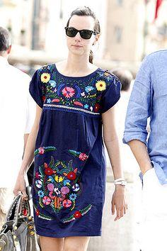 St. Tropez Street Style #colorsofsummer