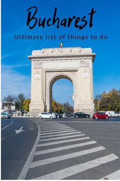 A comprehensive guide to the best things to do in Bucharest, Romania, covering amazing architecture, stunning palaces, nightlife in the Old Town and more! Umbrella Street, Stuff To Do, Things To Do, Visit Romania, Romania Travel, Bucharest Romania, Best Cities, Summer Travel, Capital City