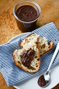 blissful eats with tina jeffers: nutella with cocoa nibs