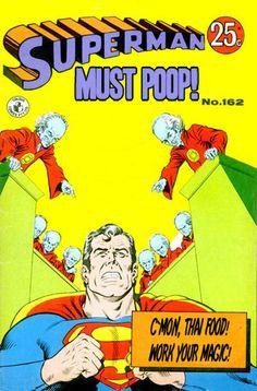 Superman must...