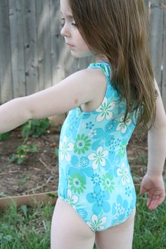 Sewing swimsuit/leotard