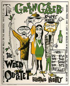Rolly Crump Green Gasser poster. 1960 | Flickr - Photo Sharing!