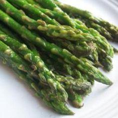 http://fashion881.blogspot.com - Pan-Fried Asparagus