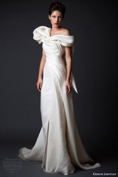 Krikor Jabotian Fall/Winter 2014-2015 — Amal Collection | Wedding Inspirasi
