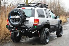 Description: rear bumper bar on Jeep Grand Grand Cheeroke WJ steel 3 mm thick typical Metal Pasja design and details innovative technology improvement of raid angle Basic version includes: 2 x LED lights price: Jeep Grand Cherokee Laredo, Grand Cherokee Overland, Jeep Wk, Jeep Mods, Jeep Liberty, Jeep Grand Cherokee Accessories, Jeep Bumpers, Cool Jeeps, Jeep Accessories