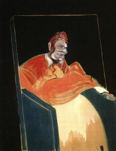 Francis Bacon - Study for a Pope, 1961