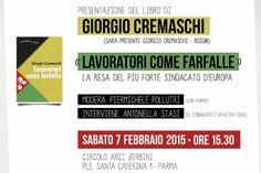 """Mondo del lavoro, Cremaschi presenta  il proprio libro: """"Lavoratori come farfalle"""""""
