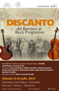 Discanto, del Barroco al Rock Progresivo - [13 de julio de 2013].