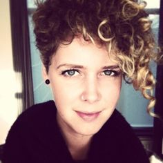 Seriously considering this...it's by far the best naturally curly pixie cut I've seen yet!