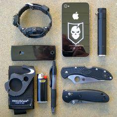 My EDC 'Black Kit' by bfgreen, via Flickr