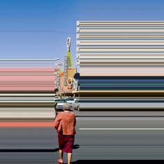 Lines we live by - Gli scatti vintage manipolati da Frances Berry   Collater.al