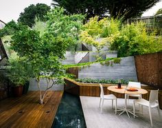 barensfeld architecure ramps hilgard garden terrrace in california