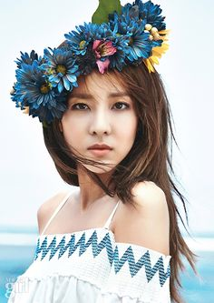 2NE1 Dara - Vogue Girl Magazine July Issue '15