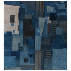 Japanese Boro Textile | See more antique and modern Quilts at http://www.1stdibs.com/furniture/folk-art/quilts