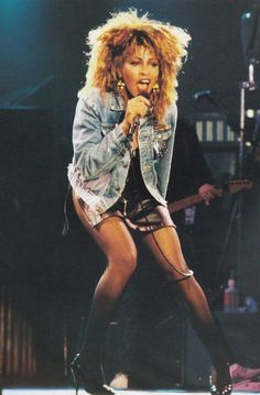 Tina Turner. This lady has got some legggs!