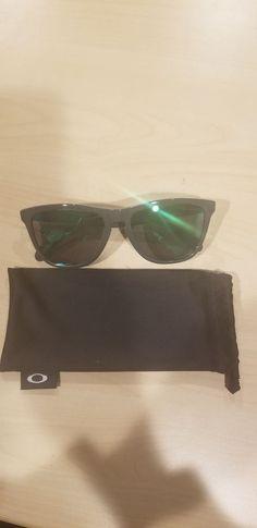 b9defbd78e02c Oakley Frogskins Sunglasses OO9013-32 Eclipse Frame W  Jade Iridium Lens   fashion