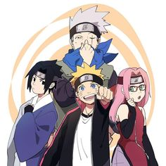 - [ ] Credit to owner Tags: Naruto Uzumaki Shippuden, Naruto Kakashi, Naruto Team 7, Anime Naruto, Naruto Shippuden Characters, Naruto Comic, Naruto Cute, Naruto Girls, Team Minato