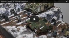 Diorama World: Ardennes Offensive 1944 step by step
