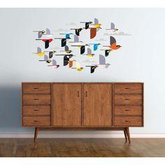 Charley Harper - A Flock Of Birds Wall Decor £24 (£3.95 p&p)