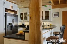 A family builds anew on a precious Sebago Lake plot. Lots of photos- Ultimately, they settled on Rob Whitten and Eric Laszlo of Whitten Architects in Portland and Michael Meyer of Island Cove Building and Development in Windham. From the start, the group forged an extraordinarily close working relationship.