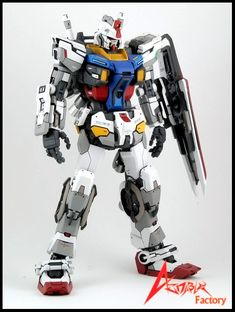 RX-78-2 Gundam Evolve 15 1/100 RX-78-2 resin conversion kit *Is a drasticdeparture from original RX-78-2 design, but something about it rea...