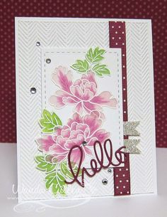 Cullen-ary Creations: Peony Scrolls-altenew stamps