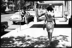 Arthur Elgort - Actress Wendy Whitelaw shot on Park Avenue, New York. American Vogue, July 1981