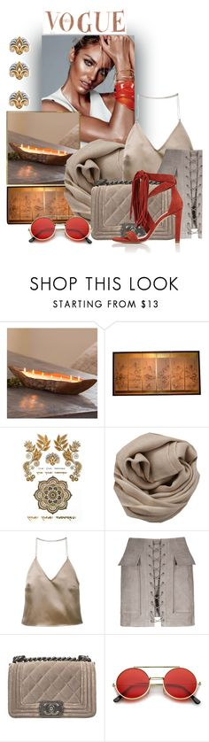 """""""Sifnos"""" by hanjaridoueleftheria ❤ liked on Polyvore featuring Brunello Cucinelli, Barbara Casasola, Chanel and Chloé"""